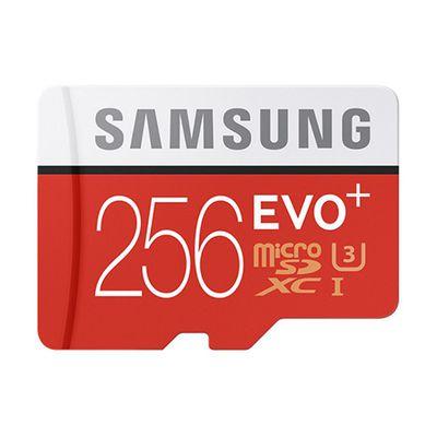 Samsung Evo+ microSDXC UHS-I 256 Go: presque tout d'une pro