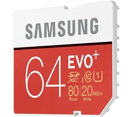 Samsung Evo Plus SDXC UHS-I 64 Go