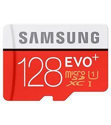 Samsung Evo+ microSDXC UHS-I 128 Go: pénalisée par l'écriture