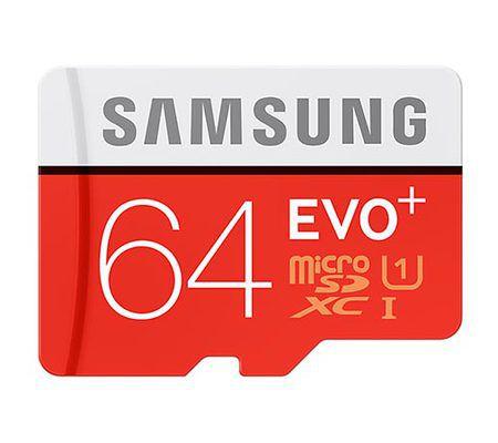 Samsung Evo+ microSDXC UHS-I 64 Go