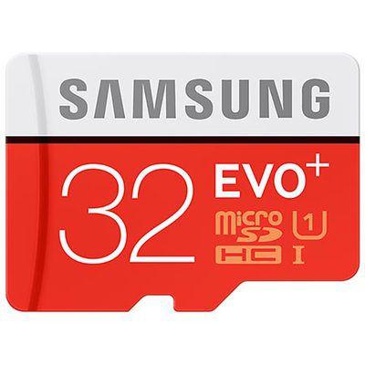 Samsung Evo+ microSDHC UHS-I 32 Go: le compromis