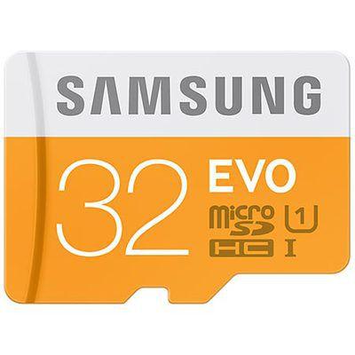 Samsung Evo microSDXC UHS-I 32 Go: la plus équilibrée de la série