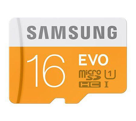 Samsung Evo microSDHC UHS-I 16 Go