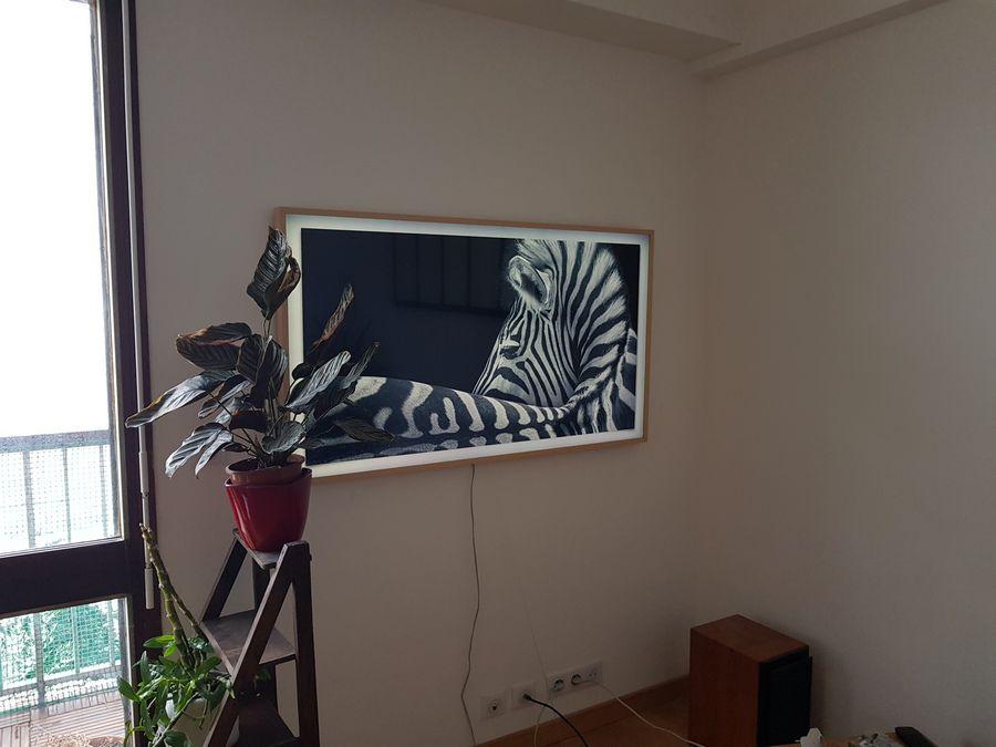 lecteurs testeurs samsung the frame l ergonomie et le. Black Bedroom Furniture Sets. Home Design Ideas