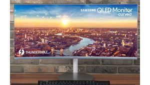 IFA 2018 – Samsung C34J791: un moniteur Qled incurvé Thunderbolt 3