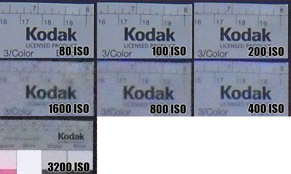 Samsung PL 70 montée ISO