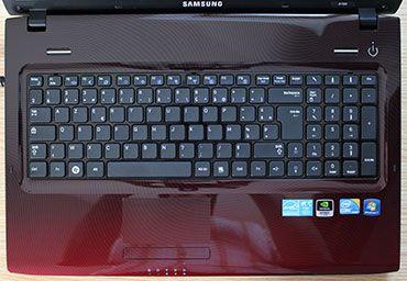 Samsung R780 keyboard