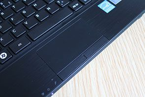 Samsung N230 Slim touchpad