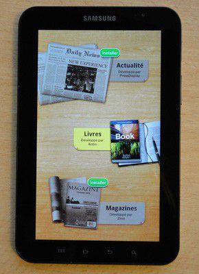 Samsung galaxy tab ebook