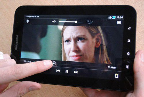 Samsung galaxy tab film