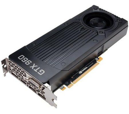 Nvidia GeForce GTX 960 2 Go