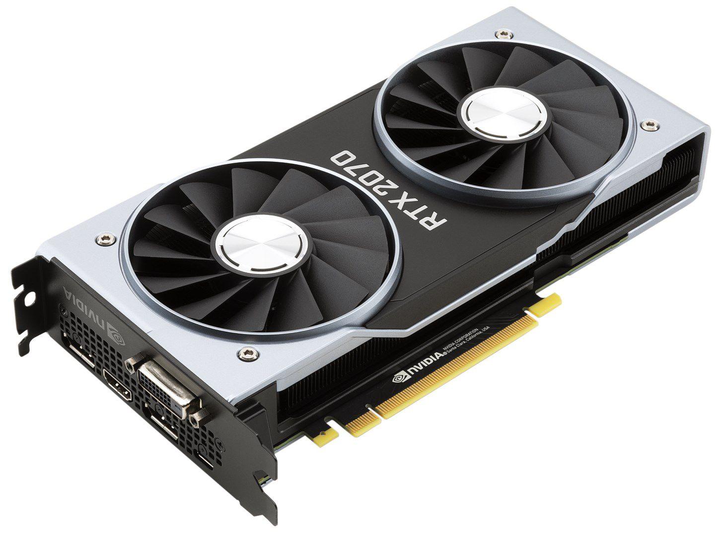 Nvidia GeForce RTX 2070 : la carte graphique idéale pour le WQHD