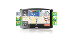 Test GPS : Mappy maxiS709, le GPS extra large