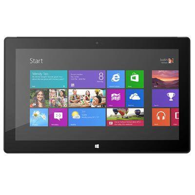 Microsoft Surface Pro : Un PC au format tablette... mais sans clavier.
