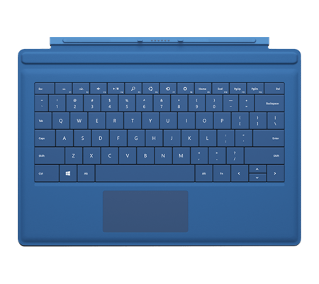 Microsoft Type Cover de Surface Pro