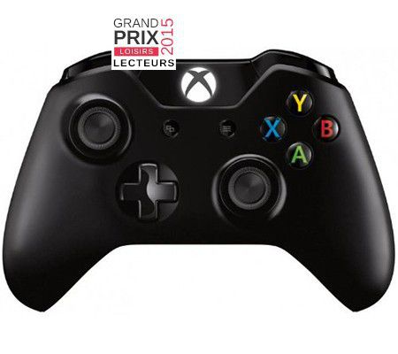 microsoft manette xbox one test prix et fiche technique joypad les num riques. Black Bedroom Furniture Sets. Home Design Ideas