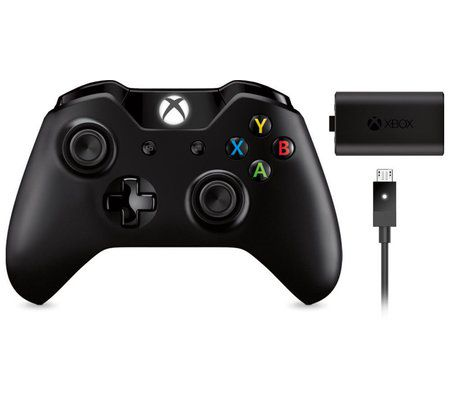 Microsoft Manette Xbox One Play & Charge Kit