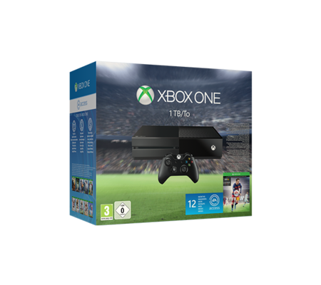 Microsoft Xbox One 1 To + Fifa 16