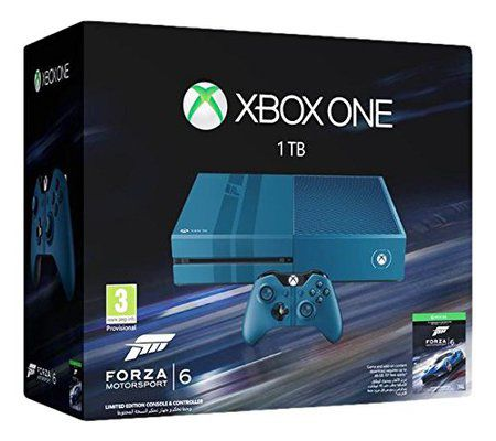 Microsoft Xbox One - édition collector + Forza Motorsport 6