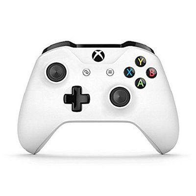 Microsoft Manette Xbox One S Blanche: Bluetooth, grip et mini-jack en plus
