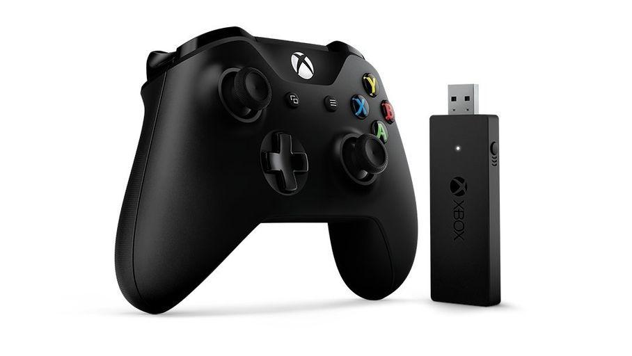 Microsoft Manette Xbox One Sans Fil New Noire + Chargeur