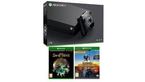 Soldes 2018 – La Xbox One X + PUBG et Sea of Thieves à 449€