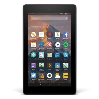 Amazon Kindle Fire 7 2017 : en stagnation toute !