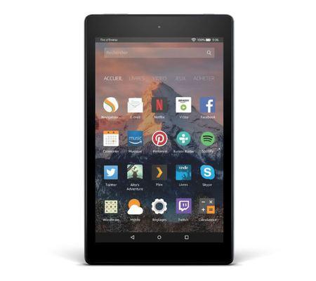 3d086afa5397cb Amazon Fire HD 8 (2017)   test, prix et fiche technique - Tablette ...