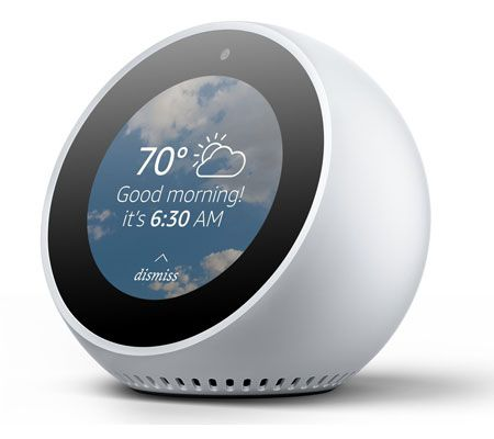 amazon echo spot quand echo se mue en r veil les. Black Bedroom Furniture Sets. Home Design Ideas