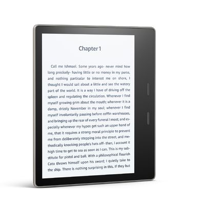 Amazon Kindle Oasis 8 Go (2017): la liseuse à écran de 7 pouces étanche