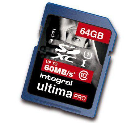 Integral UltimaPro SDXC C10 64 Go
