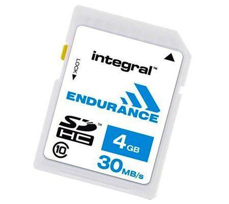 Integral Endurance SDHC C10 4 Go