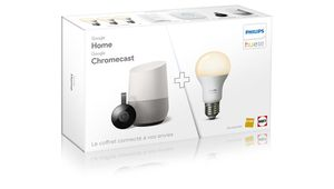 Bon plan – Pack Google Home + Philips Hue White + Chromecast à 199 €