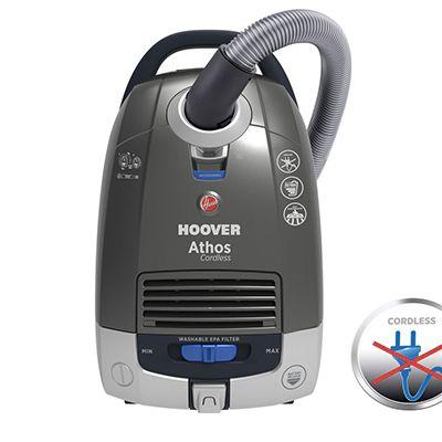 Hoover Athos ATC18LI: l'aspirateur-traîneau sans fil et sans bruit
