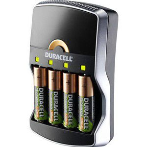 Duracell Chargeur 15 minutes + 4 AA 1300 mAh