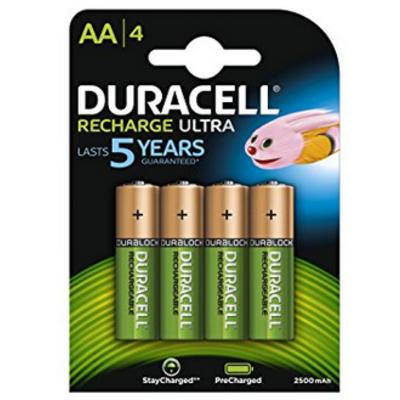 Duracell Recharge Ultra 2500 mAh: un bon rapport capacité / prix