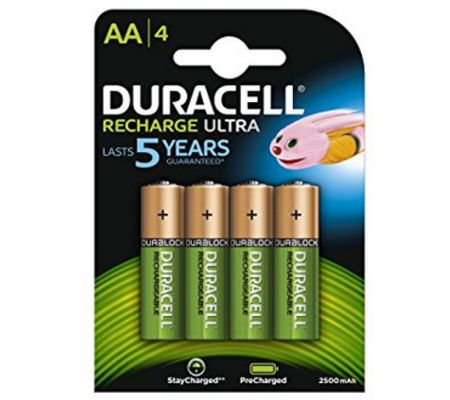 Duracell Recharge Ultra 2 500 mAh AA/HR6