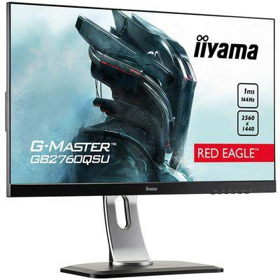 Iiyama G-Master GB2760QSU-B, un moniteur 27 pouces Quad HD FreeSync 144 Hz