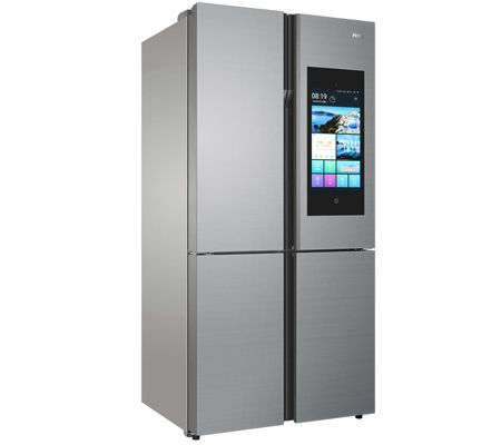 ces 2018 le link cook nouveau frigo connect de haier les num riques. Black Bedroom Furniture Sets. Home Design Ideas