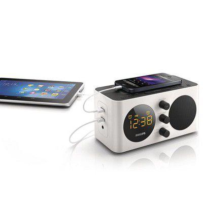 Philips AJ6000: le radio-réveil qui recharge les batteries