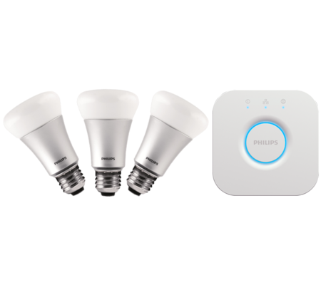 Philips Hue kit 3 ampoules blanc/couleur version 2 E27
