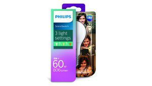 Philips SceneSwitch, une ampoule LED avec réglage d'intensité
