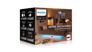 Bon plan – Ampoules connectées Philips Hue, kit de découverte