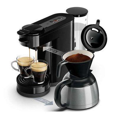 Philips Senseo Switch: un café-filtre, deux préparations différentes