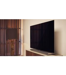 Philips 65OLED973:  le téléviseur Oled Ambilight avec une barre de son