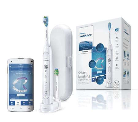 Philips Sonicare HX9192/01 Flex Care Platinium Connectée