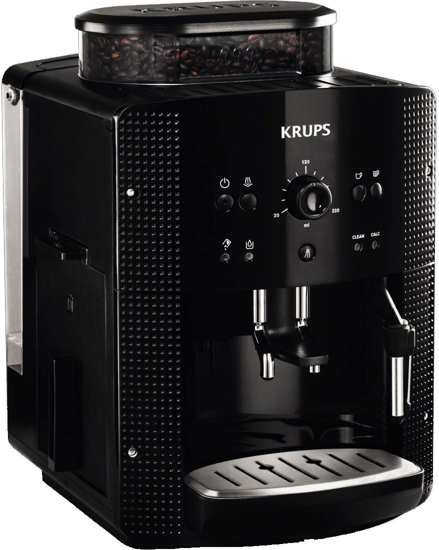 krups espresso full auto yy8125fd test complet cafeti re automatique avec broyeur les. Black Bedroom Furniture Sets. Home Design Ideas