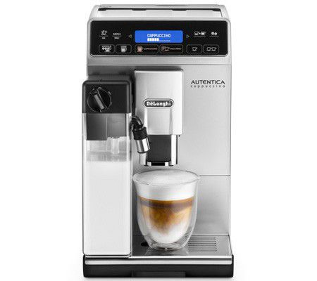 delonghi autentica cappuccino etam test complet cafeti re automatique avec broyeur. Black Bedroom Furniture Sets. Home Design Ideas