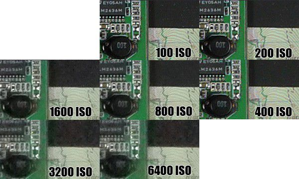 Panasonic GF2 test review montée ISO