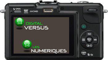 Panasonic GF2 test review dos